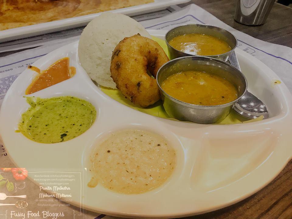 Sarvana Bhawan, Delhi Food Bloggers