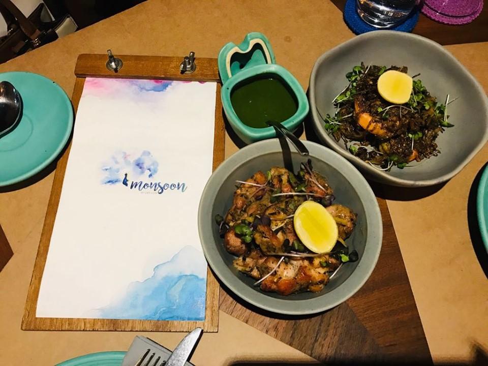 Monsoon Aerocity, Food Bloggers